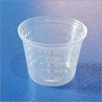15 ML 25 MM BELL SHAPE MEASURING CUP