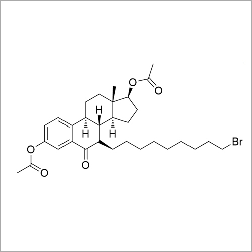 Fulvestrant Diaectyl Bromo Keto Impurity
