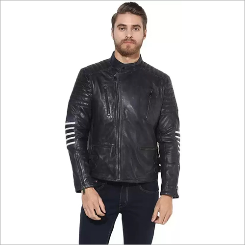 Mens Party Wear designer Leather Jacket