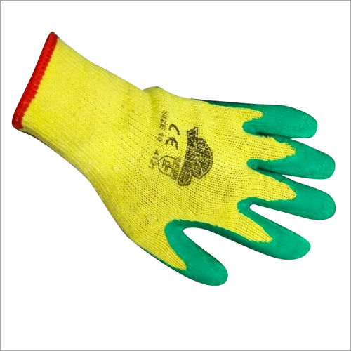 PU Coated Wrink Gloves cotton