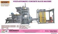 Multi Purpose Block Making Machine - BMM 600 HV