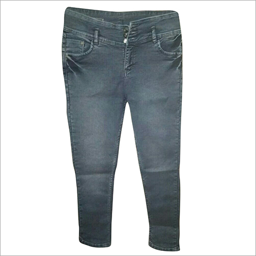 High Waist Ladies Jeans