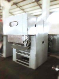 Nonwoven interlining production machine