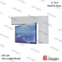 2 Side L Type Photo Frame
