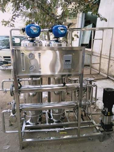 500 lph Automatic SS Ro Plant