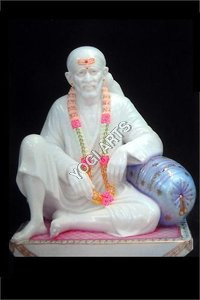 YogiArts - Marble Sai Baba (Dwarka Maai) 401