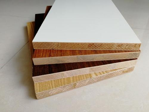 Block boards for office cabinets and table frame