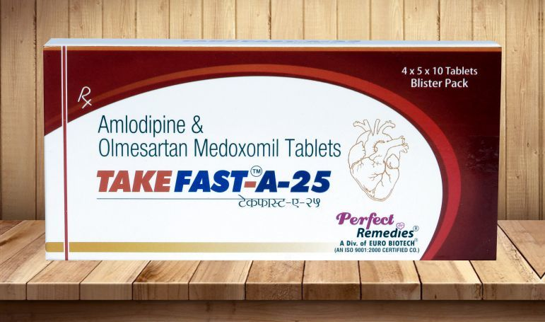 Olmesartan 20 mg & Amlodipine 5 mg