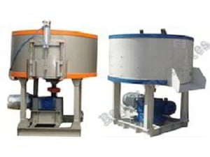 Pan Mixer Machine 500KG Capacity