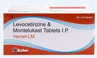 Levocetirizine, Montelukast Tab
