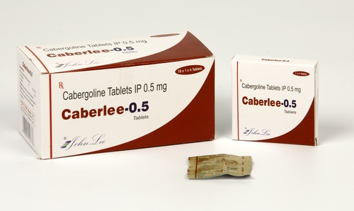 Cabergoline Tablet 0.5 MG
