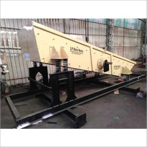 Mild Steel Vibrating Screen Machine