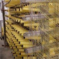 Yellow HDPE Fabric