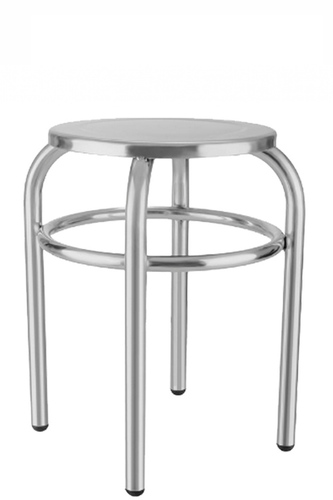 Round SS/ MS Patient Stool