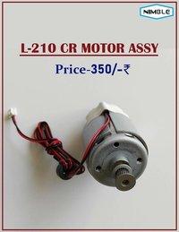 CR MOTOR ASSY (L-210)