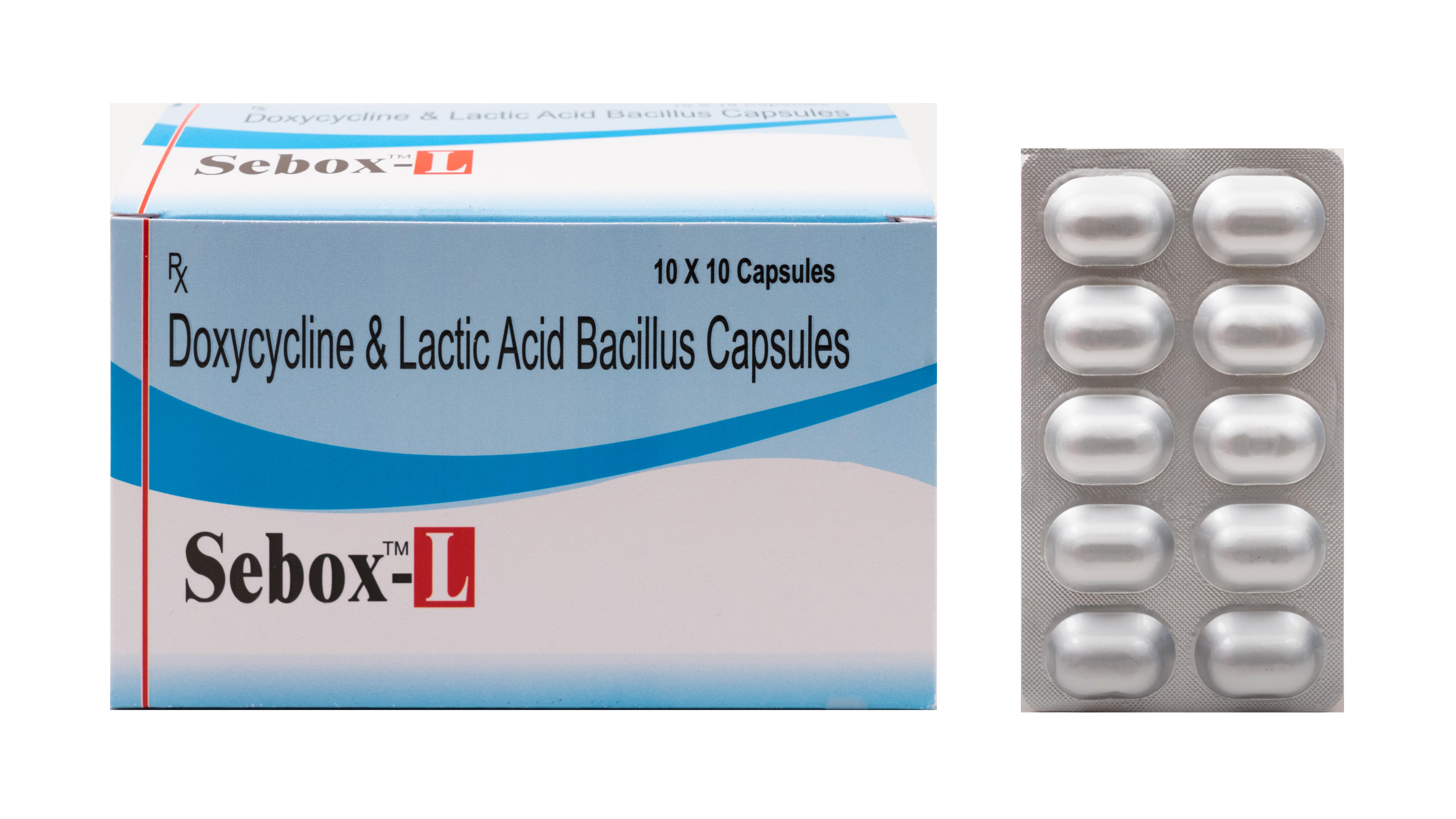 Doxycycline hydrochloride Cap ( Sebox-L )