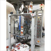 Collar Type Multihead Flat Bottom Standup Pouch Packing Machine