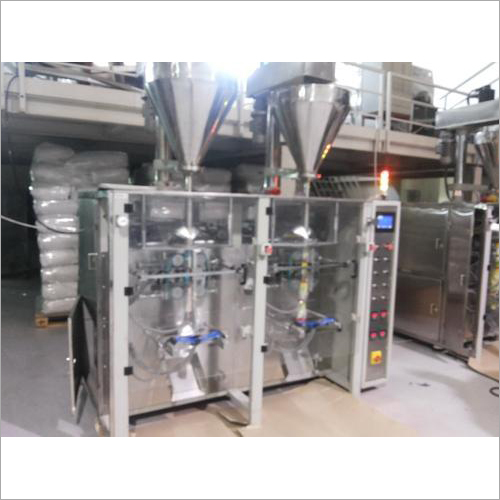 Twin Collar FFS Auger Filling Machine