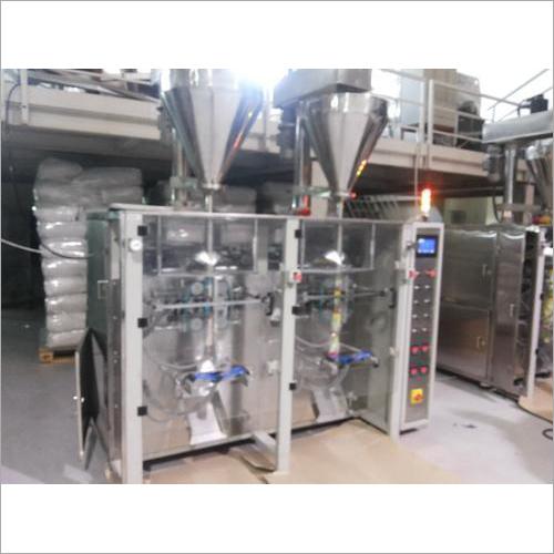 Twin Collar FFS Auger Filling Machine