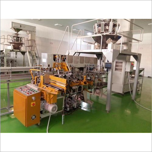 Tea Carton Packing Machine With Multi Head