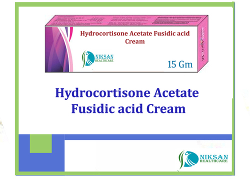 Hydrocortisone Acetate Fusidic Acid Cream