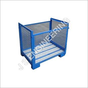 Wire Mesh Steel Bin