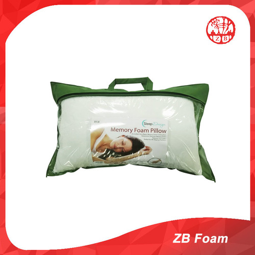Memory Foam White Pillow