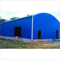 Color Roof Shed