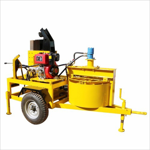 Diesel Operated Fly Ash Bricks Machine