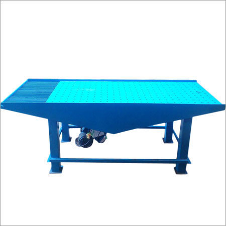 Paver Block Vibrator Table Machine