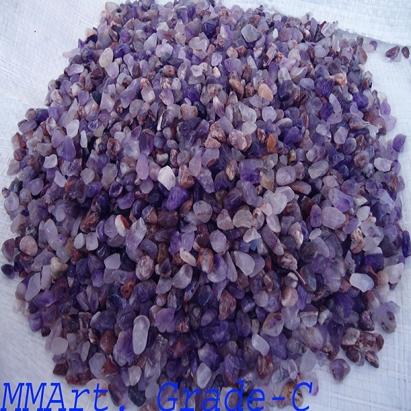 high quality amethyst gravels stone for decoration