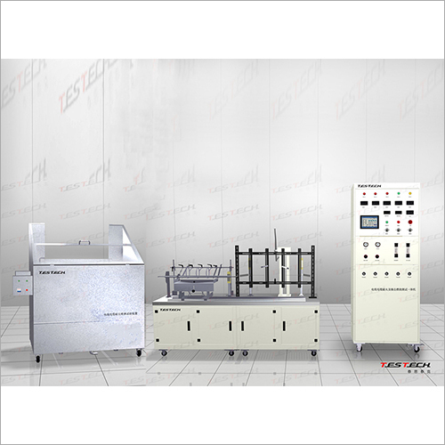 Wire Fire Resistance And Mechanical Shock And Water Spray Testing Machine
