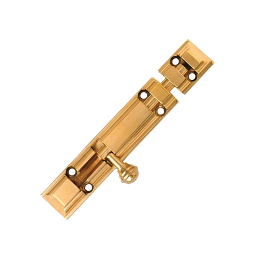 Brass Round Knob Tower Bolt