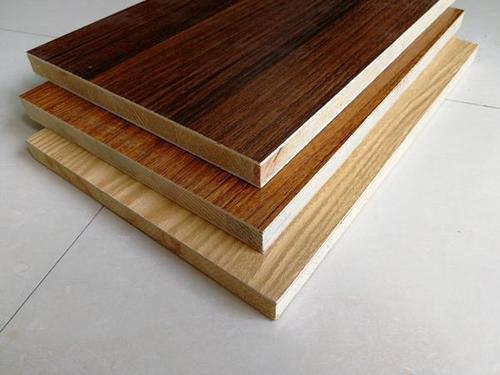 Melamine Block Board for Furniture cupboards