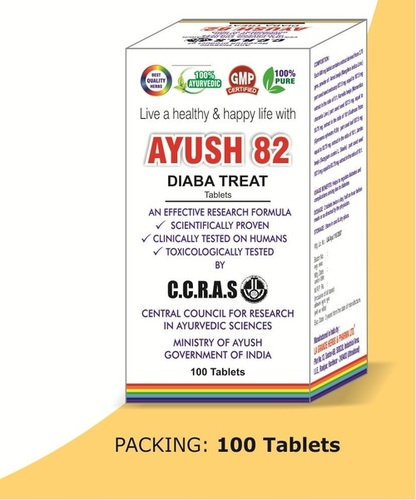 Ayush 82 Diaba Treat Tablets