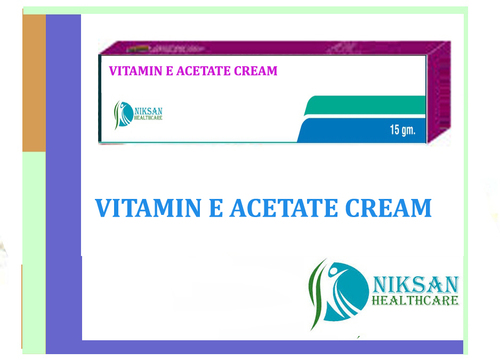 Vitamin E Acetate Cream