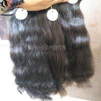 New Hair Hot Selling Indian Natural Wavy Human Hair Extension