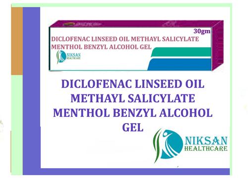 Diclofenac Linseed Oil Benzyl Alcohol Gel