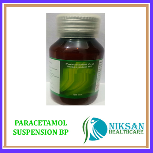 Paracetamol Suspension Bp