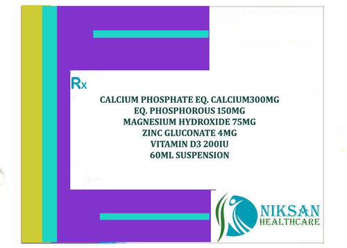 Calcium Carbonate Magnesium Zinc Vitamin D3 Suspension