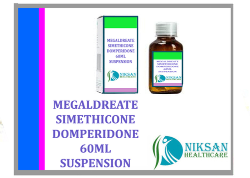 Megaldreate Simethicone Domperidone Suspension