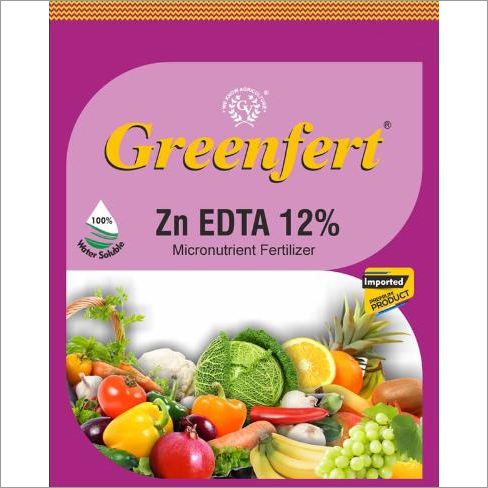 Greenfert Zn EDTA 12% Micronutrient Fertilizer