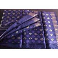 Silk Linen Saree