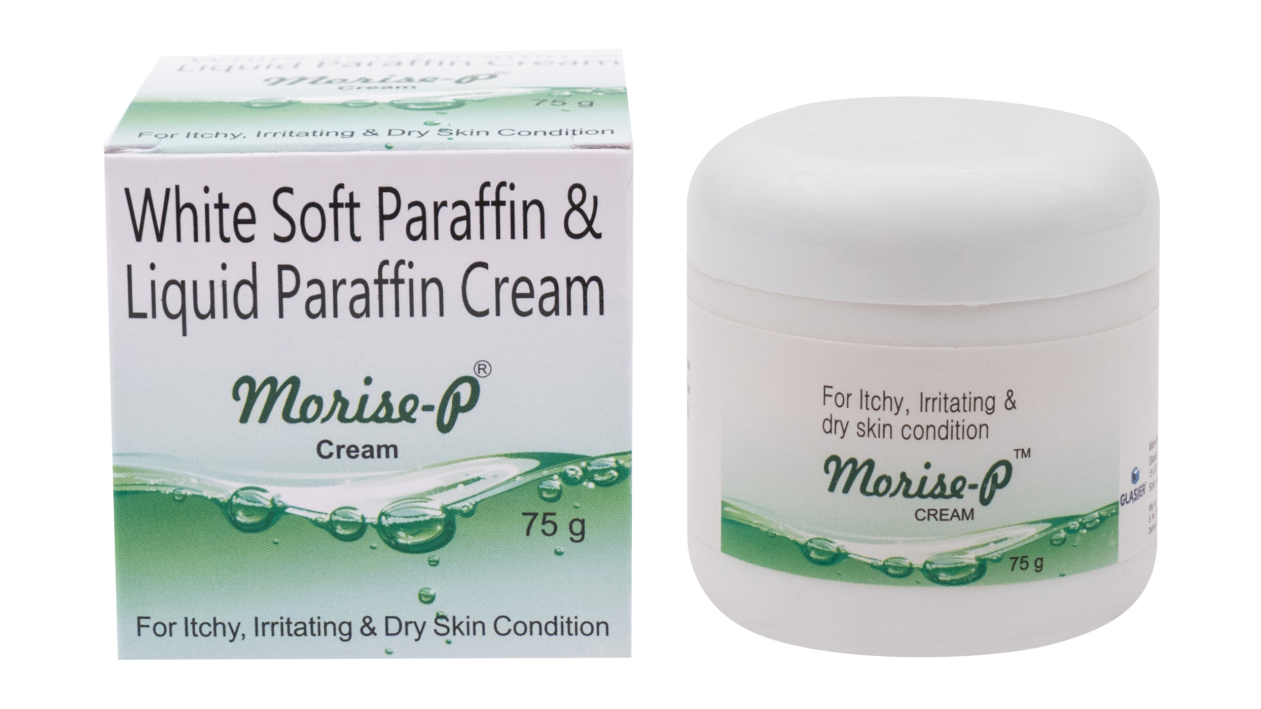 White soft Paraffin Cream