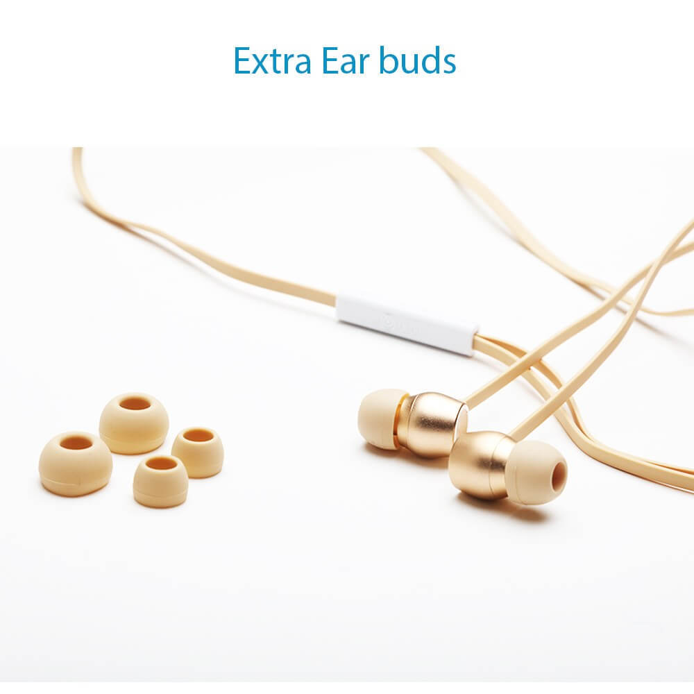 Metal Finish in ear 3.5 jack bluei M9 earphone