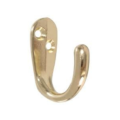Brass Clothes Hook