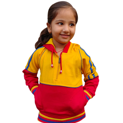 Kids School Half Zipper Tracksuit