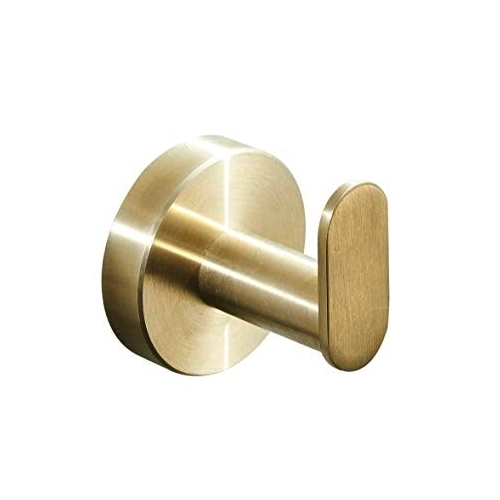 Brass Round Clothes Hook