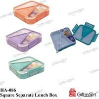 Square Separate Lunch Box