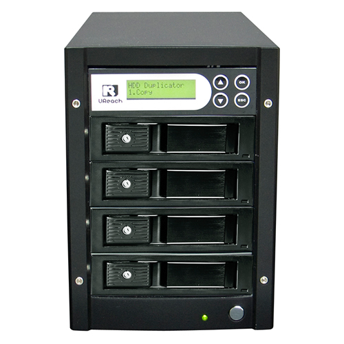 Super One Series - 1 to 3 HDD/SSD Duplicator and Sanitizer (HD-SU03)